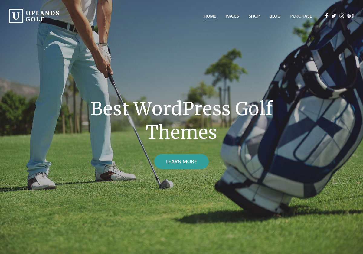 10 Best Wordpress Golf Themes For Golf Clubs Websites 2020 Colorlib