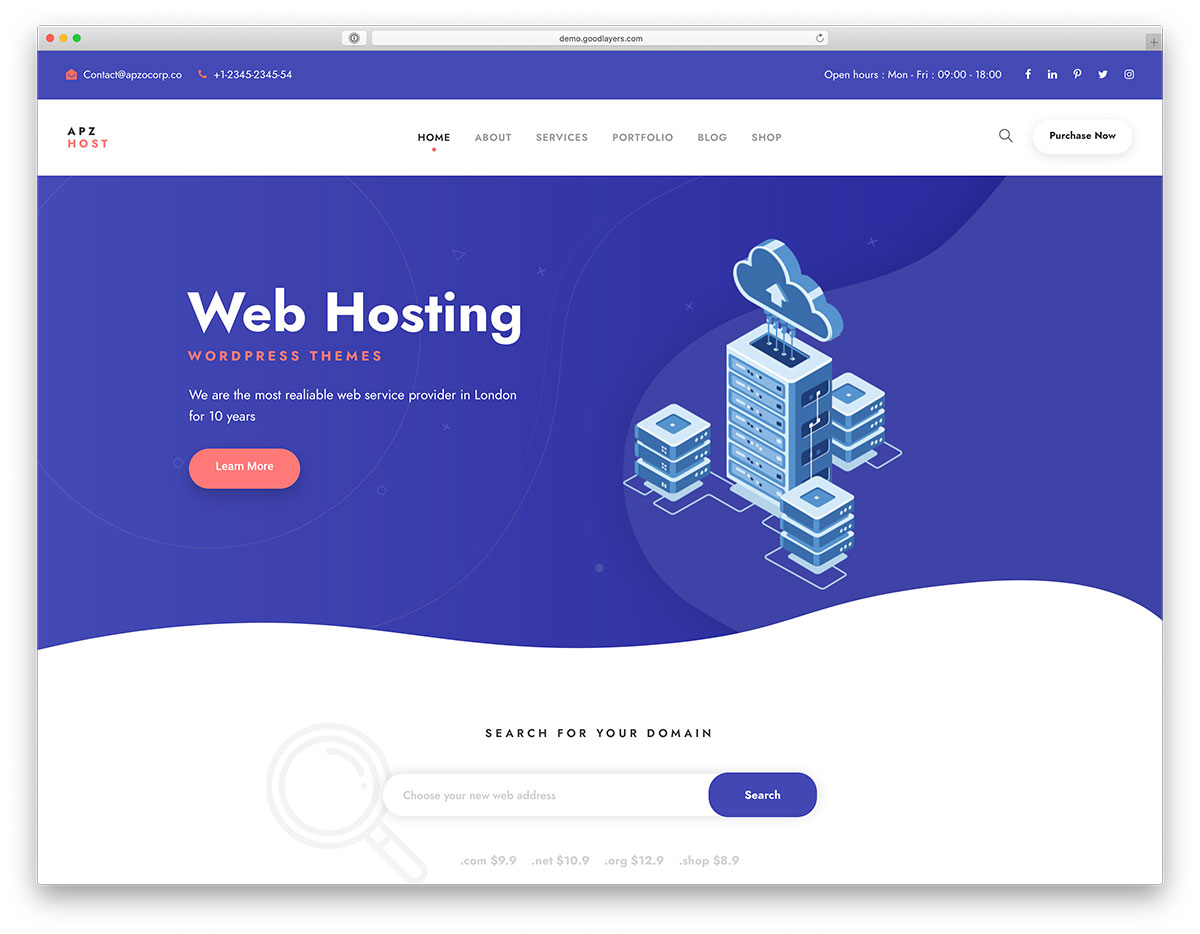 28 Best Hosting WordPress Themes With WHMCS Integration 2020