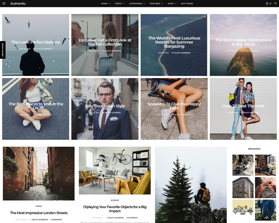 17 Best & Flexible WordPress Instagram Themes 2017