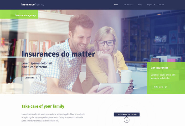 Top 20 WordPress Insurance Themes For Insurance Agencies And Lawyers 2018