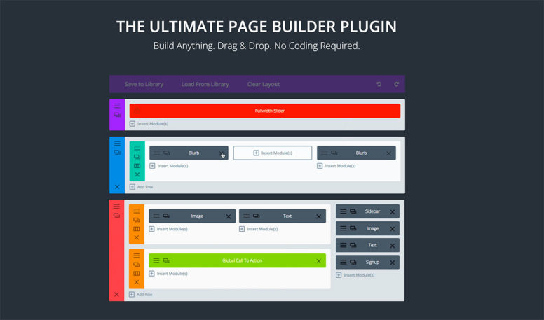 Awesome Drag And Drop Plugins For Building WordPress Pages 2017