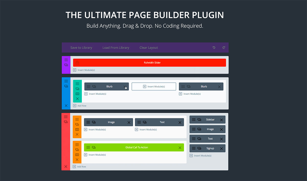 14 Awesome Drag-and-Drop Plugins For Building WordPress Pages