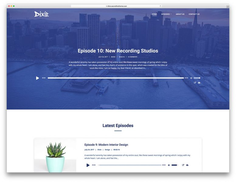 12 Most Functional WordPress Podcasting Themes 2018