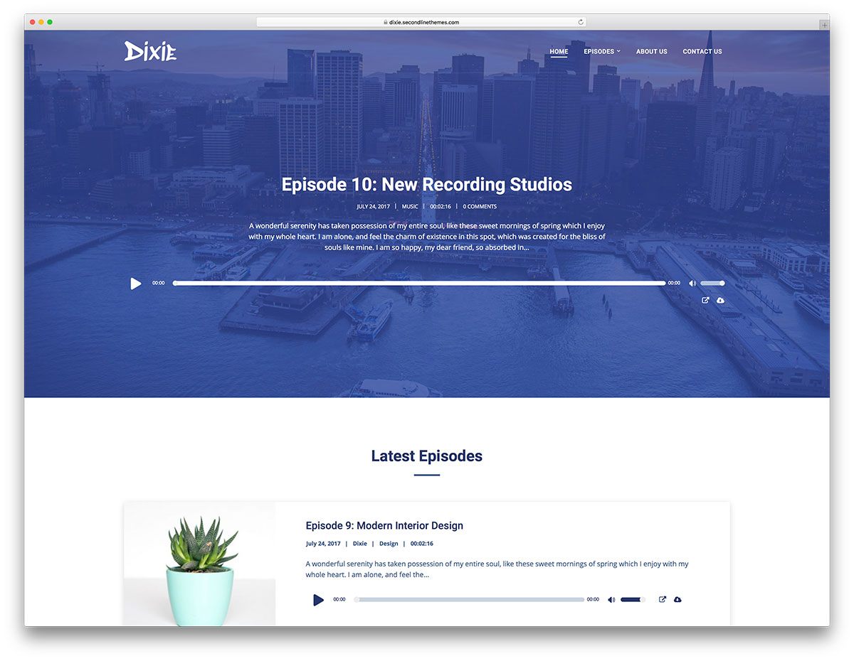 17 Most Functional WordPress Podcasting Themes 2019