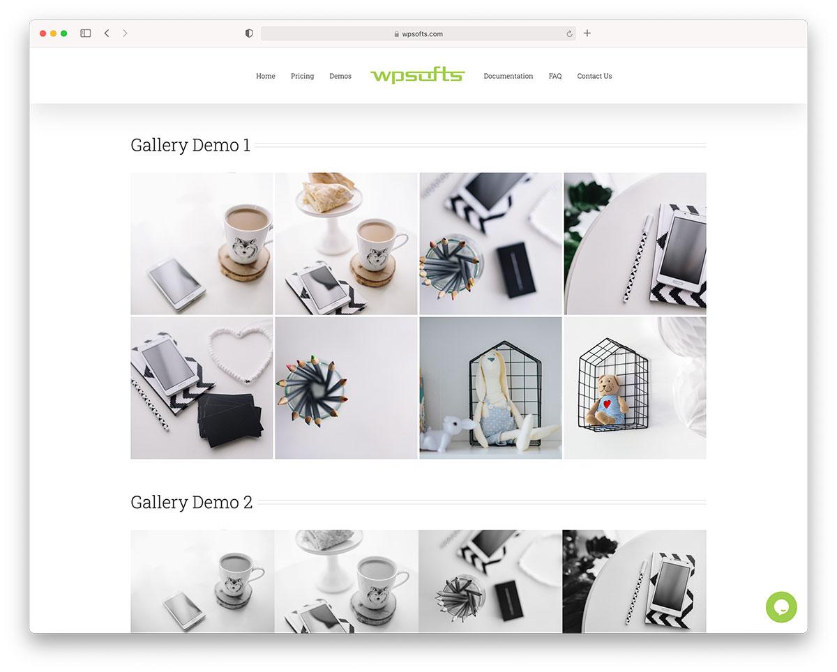 Wordpress portfolio gallery plugin