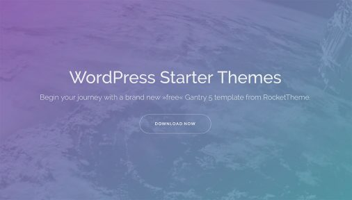 Wordpress Starter Themes