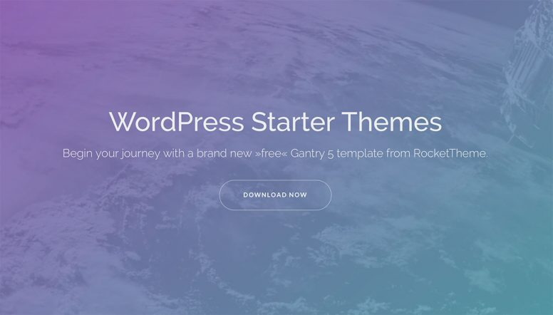 22 Most Popular WordPress Starter Themes For Your Next Project 2017