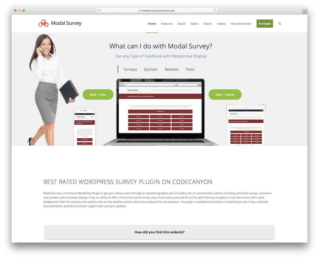 wordpress survey poll