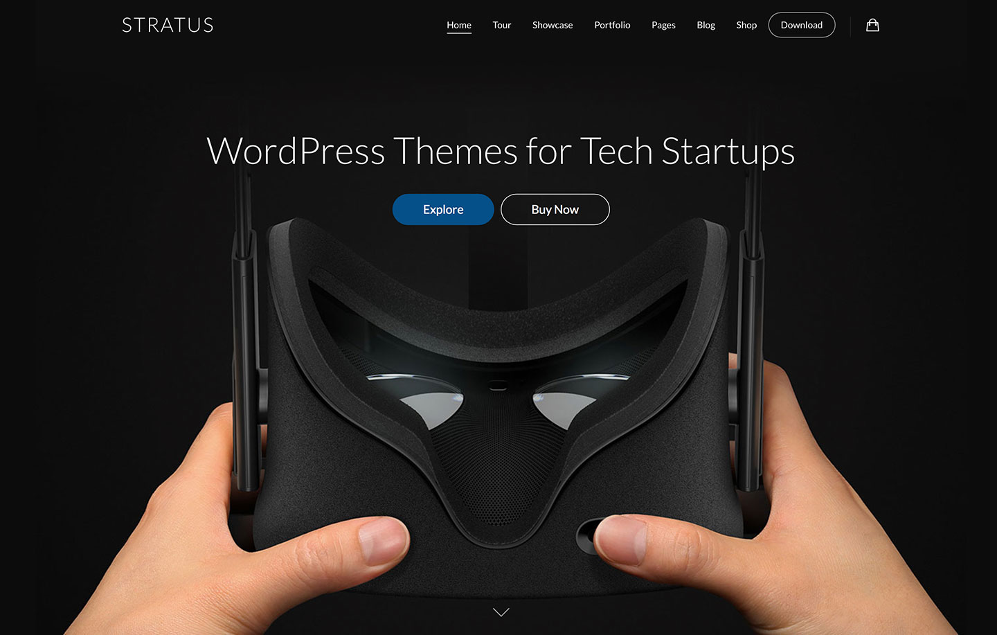 Wordpress Tech Startup Themes