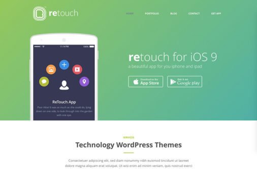 Wordpress Technology Theme