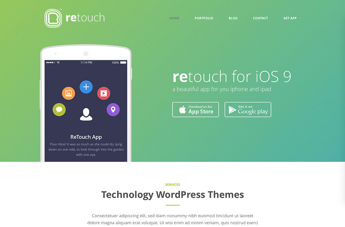 25 best professional wordpress technology theme 2018 colorlib