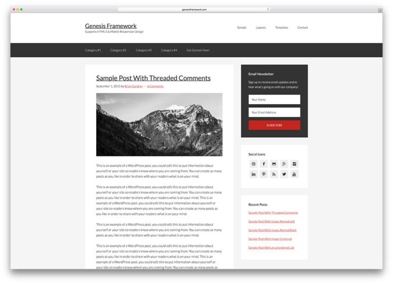 Best WordPress Theme Frameworks 2018