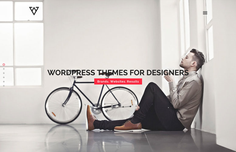 20 Brilliant WordPress Themes For Graphic, Web, Product, Game And Freelance Designers 2017