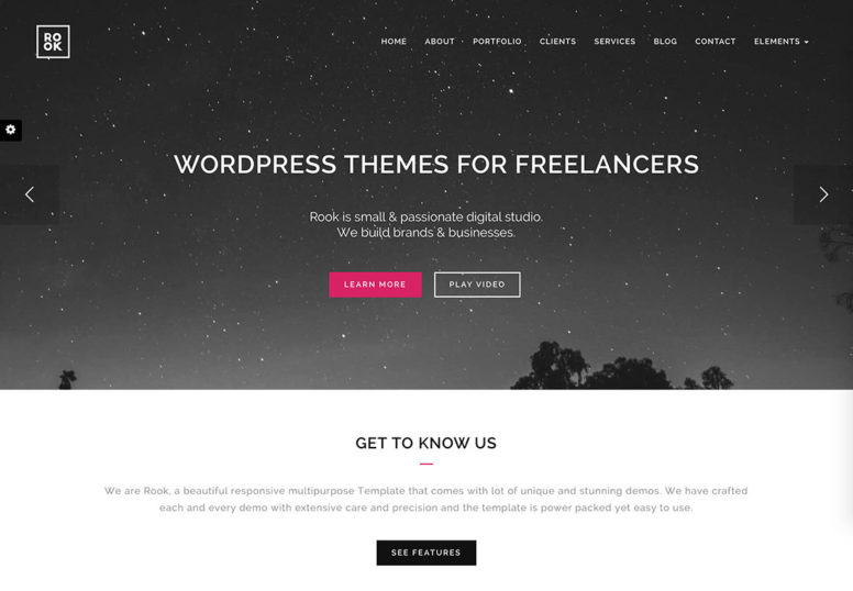 Top 20 WordPress Themes For Freelancers, Programmers, Graphics Designers And More 2017