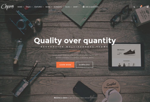 Wordpress Themes Static Websites