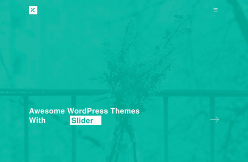 Wordpress Themes With Slider