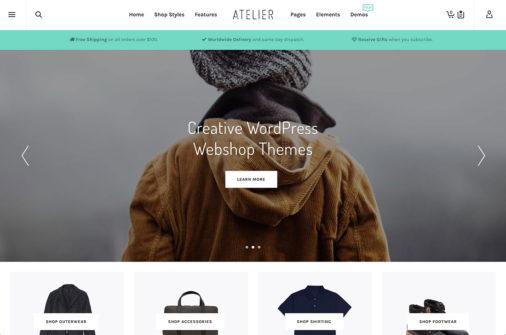 Wordpress Webshop Themes