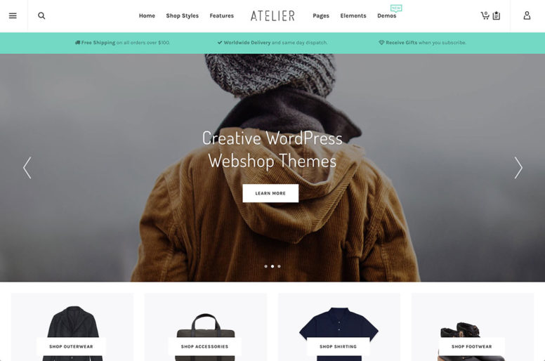 Top 18 WordPress Webshop Themes To Build A Professional ECommerce Website 2018