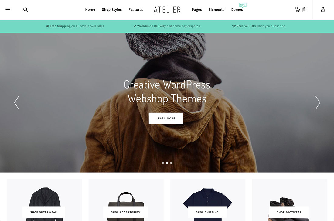 Top 31 WordPress Webshop Themes To Build A Professional ECommerce Website 2018
