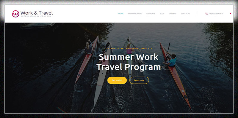 Work Travel Company Youth Programs