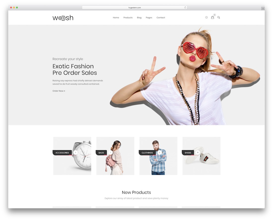 wosh drupal ecommerce template