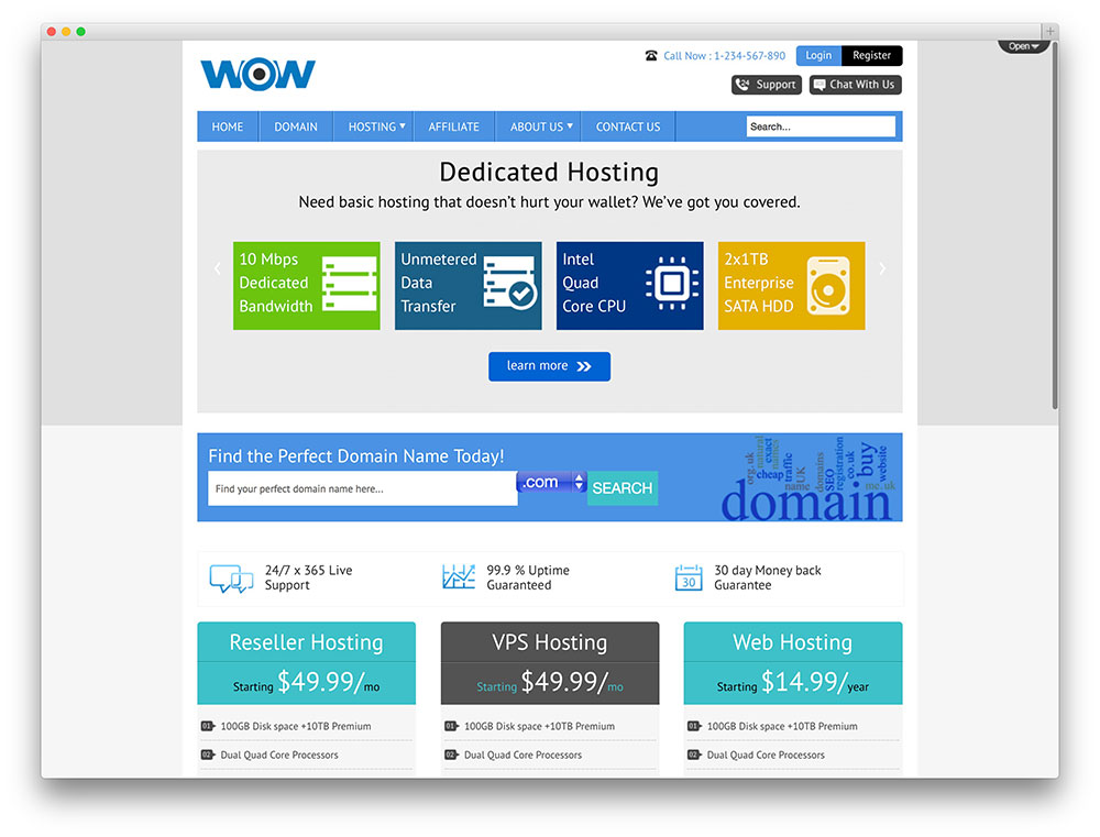 wow-clean-webhosting-template Whmcs Custom Order Form Template on shirt design, repair work, sample purchase, free fundraiser, simple purchase, excel change, printable fundraising, free sales, printable shirt,