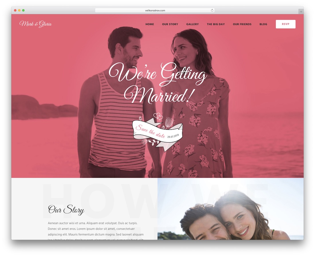 wowedding wordpress theme