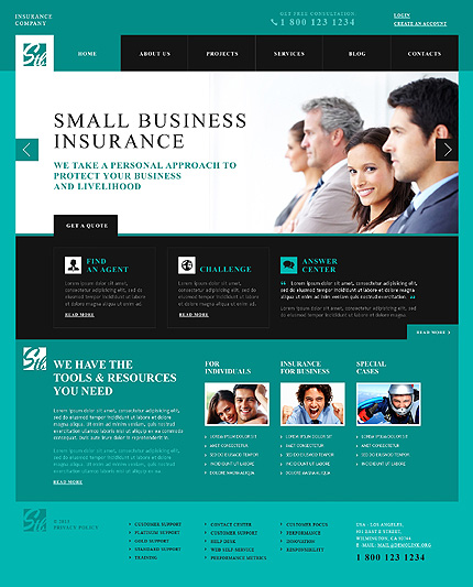 50 most outstanding business wordpress themes for startups 2014