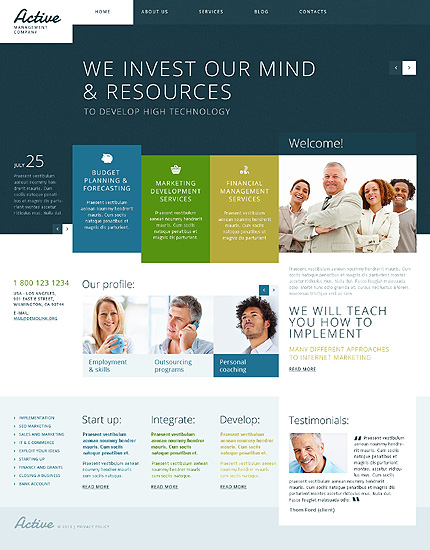 Obviously Needed for Business WordPress Theme