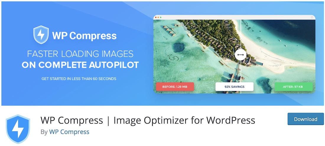 wp compress image compression plugin