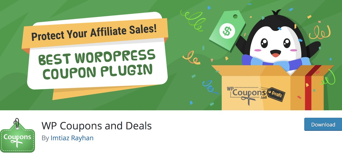 wp coupons and deals wordpress plugin