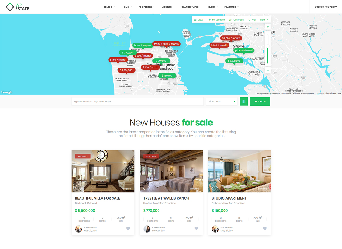 Real Estate | Estate WordPress Theme