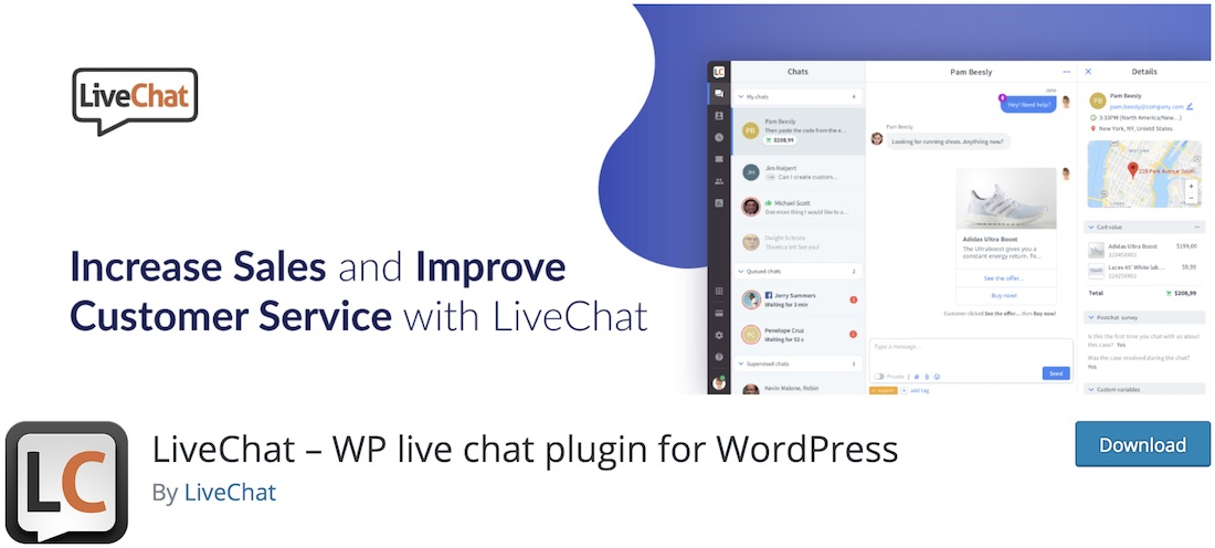 wp live chat software for wordpress