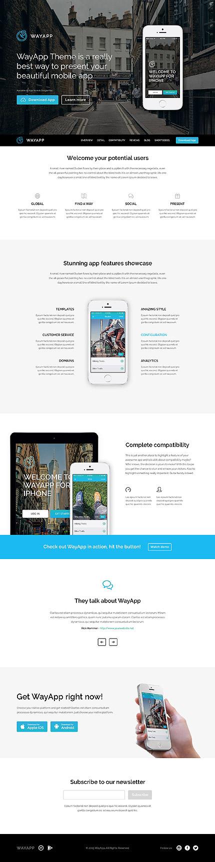 Software Company Responsive WordPress Theme