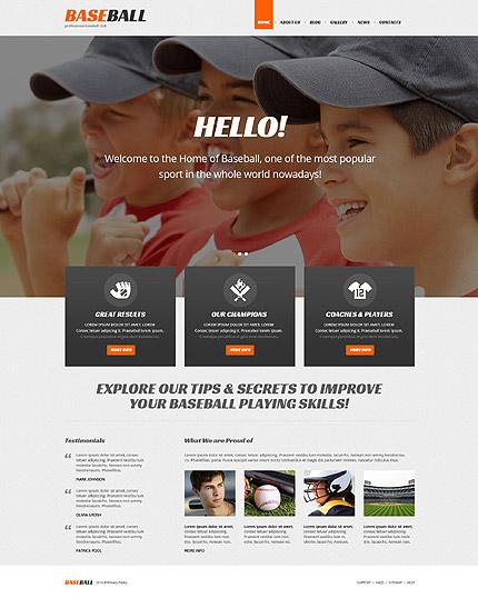 Baseball Responsive WordPress Theme