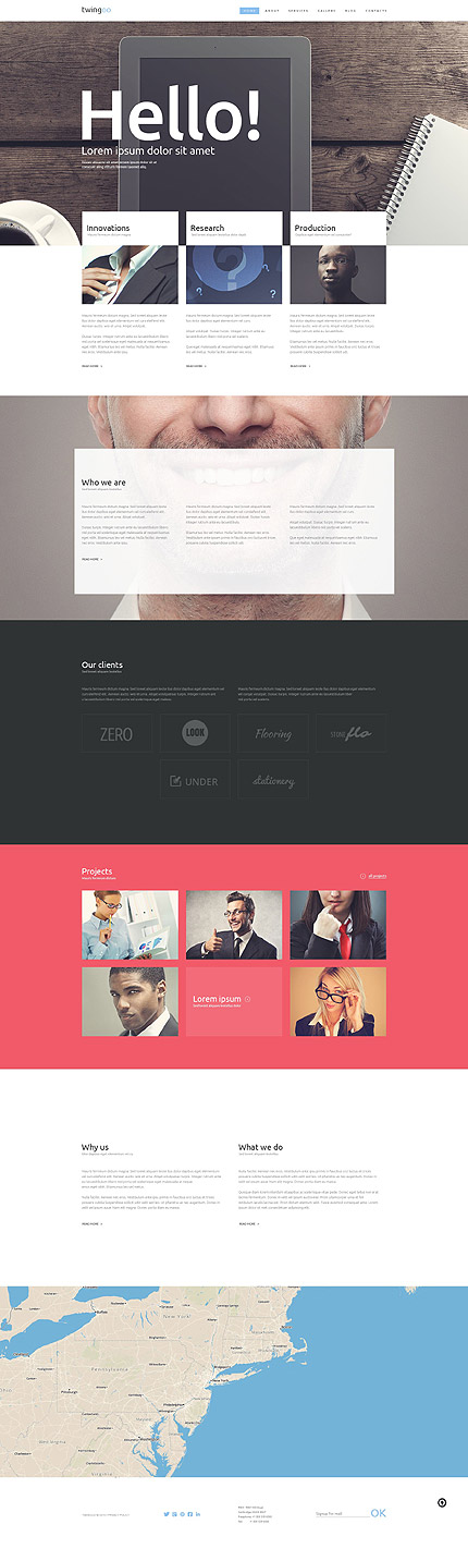 Business Promotion WordPress Theme