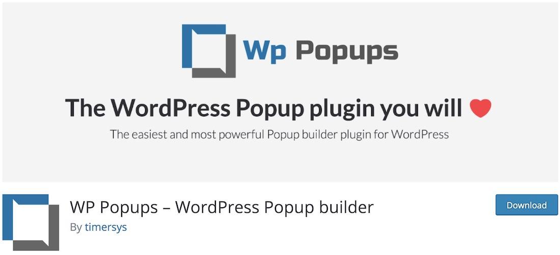 wp popups lite wordpress popup plugin