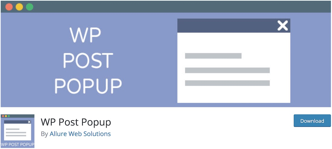 wp post popup plugin