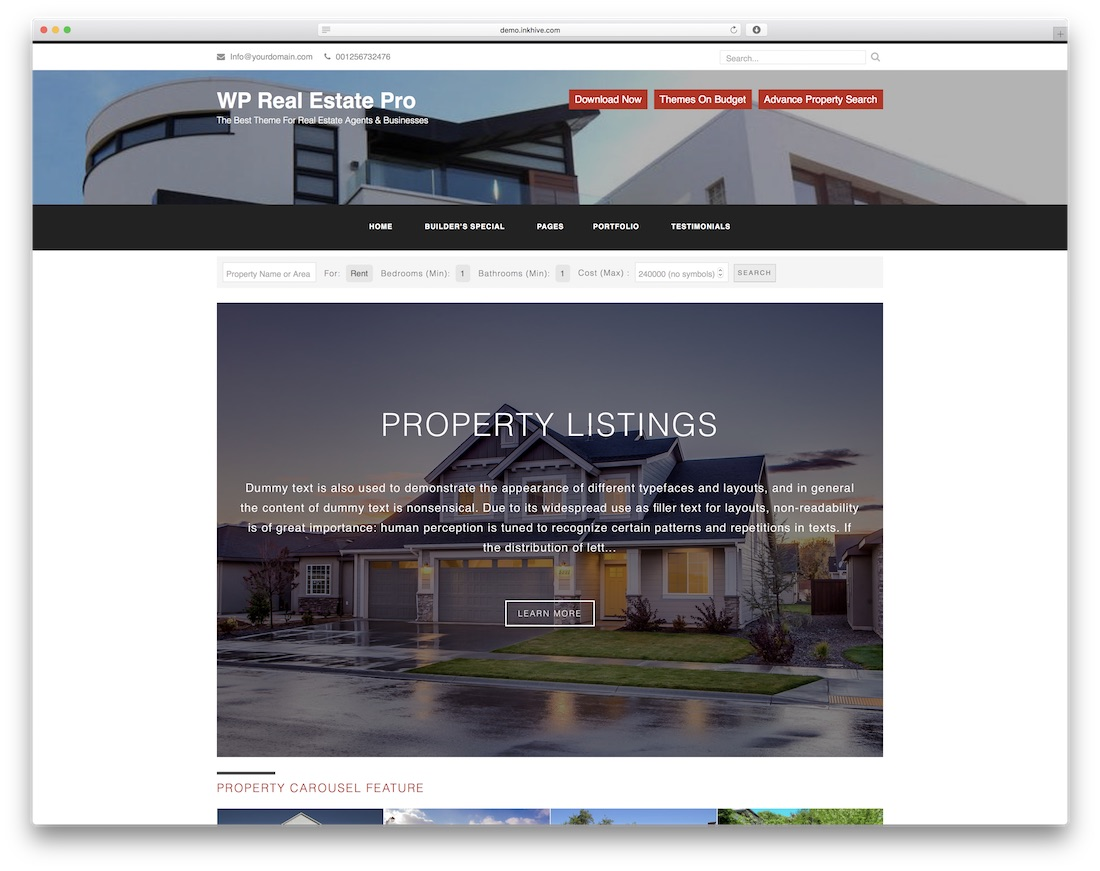 25 Best Free Real Estate Website Templates For Real Estate Companies