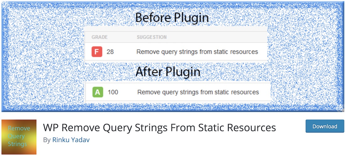 WordPress Plugins to Remove Query Strings from Static Resources