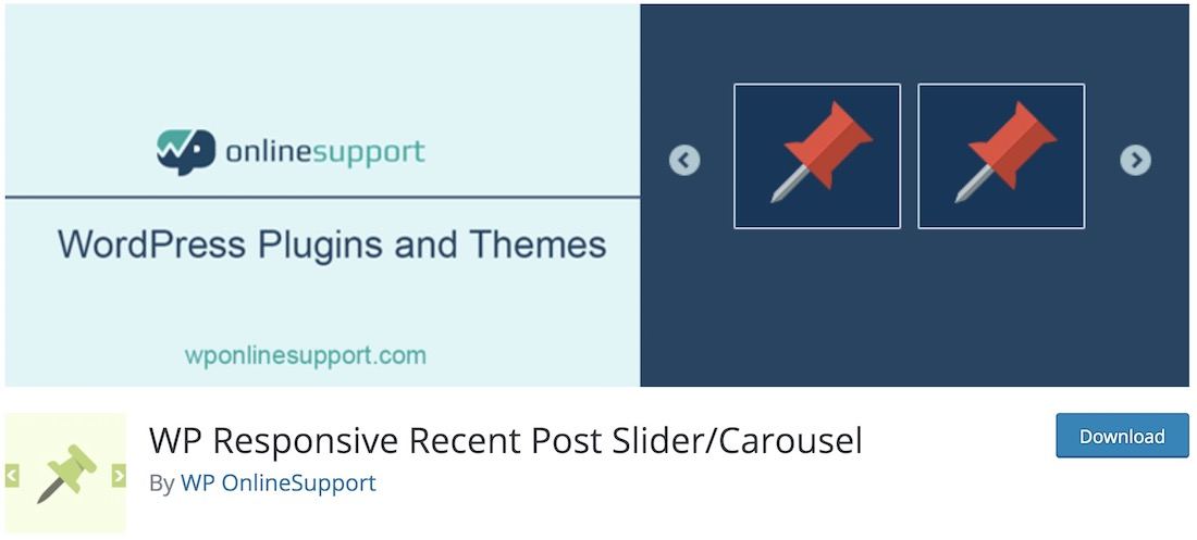 wp responsive recent post slider free wordpress plugin