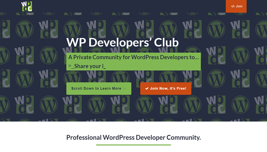 WP Developers' Club