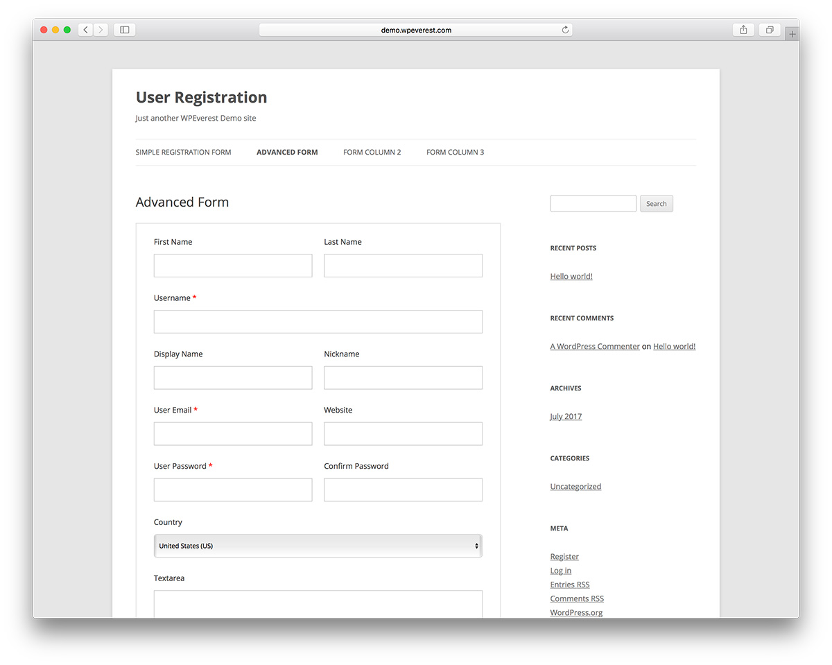 Best Free Plugins to Build Custom Registration Form in