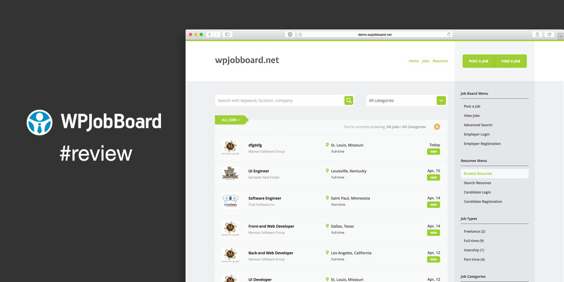 WPJobBoard Plugin Review: Build a Job Board Website