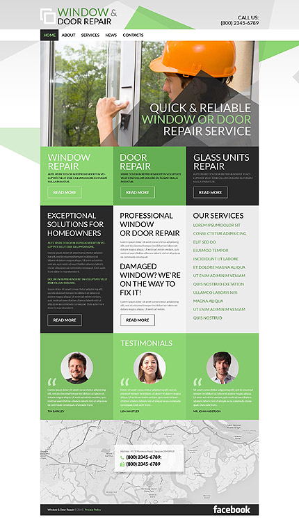 Home Repairs WordPress Theme