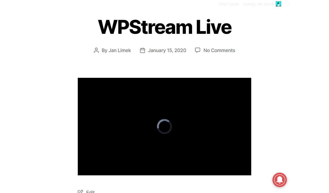 Simple WordPress Live Streaming Plugins