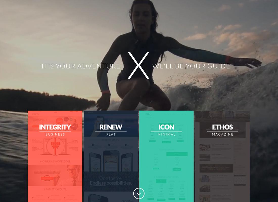 X | The WordPress Theme