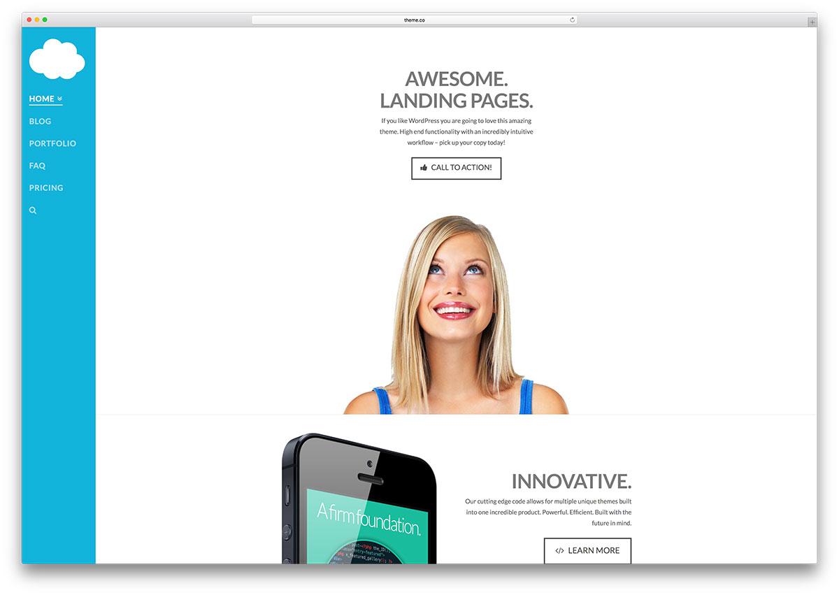 30 Awesome Flat Design Wordpress Themes 2020 Colorlib
