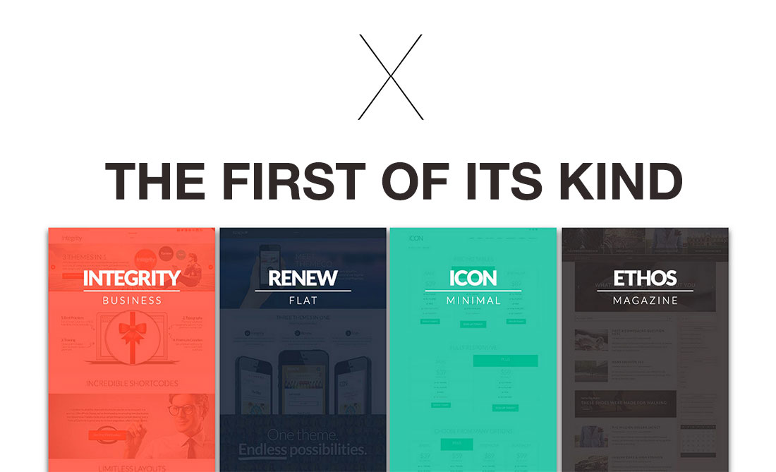 X – The New #1 Theme On ThemeForest – April, 2015
