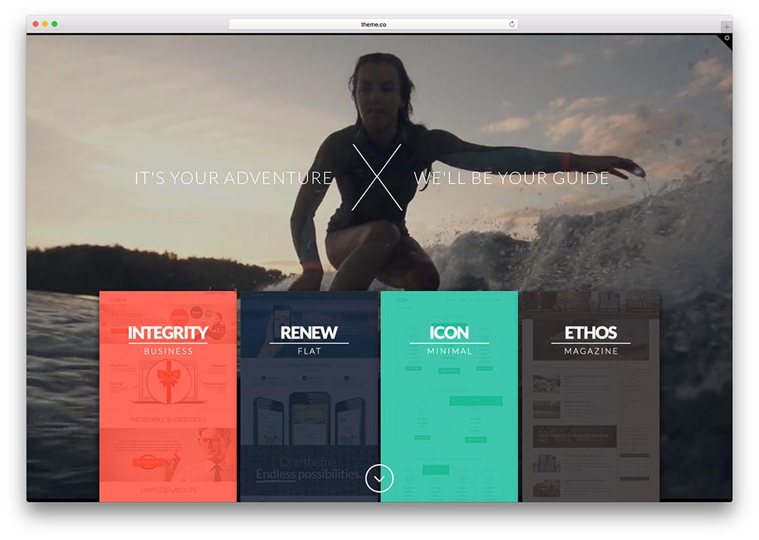 30 Spectacular Example Websites Using X Theme – Fastest Selling WordPress Theme 2015